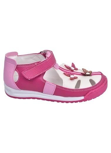 Şirin Bebe Kiko şb 2385-90 Orto pedik Kız Çocuk Ayakkabı Sandalet Renkli